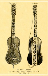 Guitar by Joachim Tielke, Hamburg ca. 1700