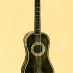 Guitar, French work, 1st half of 18th century
