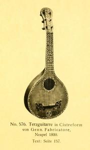 Terzguitar by Genn. Fabricatore, Naples, 1800
