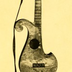 Guitar made from iron, 1st half of the 19th century