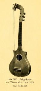 Bassguitar by Vissenaire, Lyon 1825