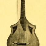 Bassguitar by Rober Lotz, Gotha, ca. 1850