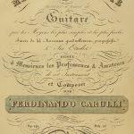Méthode complete pour parvenir a pincer la Guitare, Titelseite der sechsten Ausgabe ca. 1830